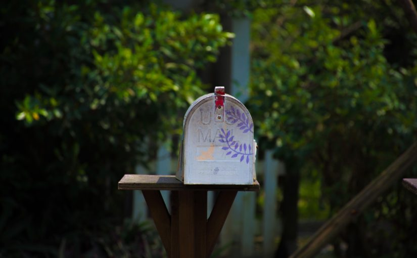 "A picture of a US mailbox from Nick Byrd's ""5 Email Workflow Policies"""