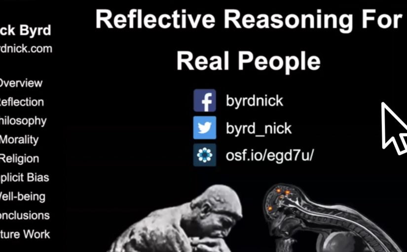 Upon Reflection Podcast, Ep. 5: Reflective Reasoning For Real People (Dissertation Overview)